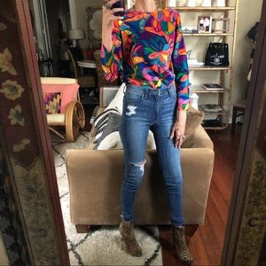 Vintage 70s psychedelic homemade top